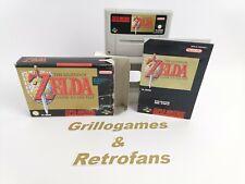 "Super Nintendo | "" The Legend of Zelda a link to the Past "" | Snes | Ovp | Pal"