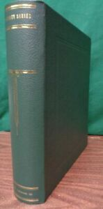 """Scott Specialized Specialty 2 post Green Binder Stamp Album Collection 3"""" NEW"""