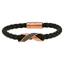 Swraovski Cross Signature Leather Bracelet 5115156