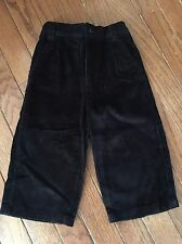 Black Corduroy Dress Pants ~ 12 Months