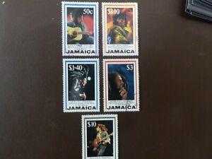 Jamaica sg 877/81 fine used