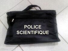 SACOCHE PORTE DOCUMENT PORTABLE 25x38cm  POLICE SCIENTIFIQUE