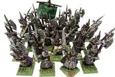 OOP Citadel / Warhammer / Marauder Miniatures Chaos Dark Elves Black Guard x 24