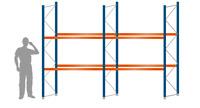 ISO 9001 Zertifiziert!18 Palettenplätze a 1000 KG Palettenregal Schwerlastregal