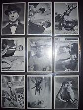 1965 JAMES BOND MOVIE COMPLETE(66) CARD SET GLIDROSE  *HIGH GRADE*