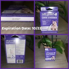 🐶8in1 Safe Guard Canine Dewormer Medium Pouch Treats 20 Lbs 3 Packs Exp 12/22🐶