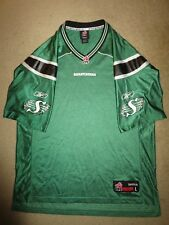 Saskatchewan Roughriders CFL Football Reebok Jersey L LG mens