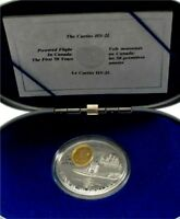 1994 Canada silver & gold $20 Dollars transportation The Curtis proof