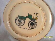 "Beautiful Decorative Plate 8-6/8"" Dia. - Harkerware Usa - Motor Wagon 1877"