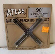 Atlas N Gauge 90 N Degree Crossing Track #2569-225 NIP Quality Train Part Lionel