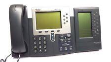 CISCO Téléphone IP 7961 systemtelefon + 7914 keymodule TOP