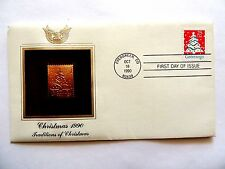 "October 18th, 1990 ""Christmas 1990"" Traditions Of Christmas First Day Cover"