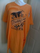 Beach Cover Graphic Tee Shirt Cover Sleepwear Sunset Tangerine New W/ Tags