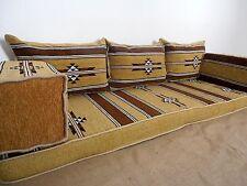 yellow color,floor seating,arabic seating,oriental seating,arabic jalsa - MA 24