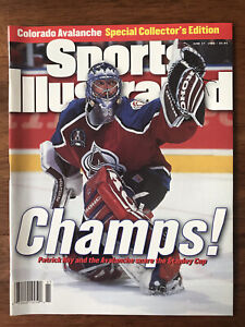 Sports Illustrated NHL STANLEY CUP Colorado AVALANCHE (1996), NEWSSTAND ed., NEW