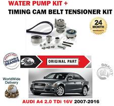 FOR AUDI A4 CAGA CAJCA CMEA CMFA 2007-2016 TIMING CAM BELT SET + WATER PUMP