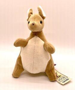 "GUND Classic Pooh Kanga Roo Kangaroo 7"" Plush Rattle w/ Tag - 7903"