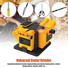 96W Electric Household Sharpener Tool Drill Bit Scissor Grinder Multifunctional