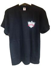 "Smirnoff Vodka - Crest - Black - Fruit of the Loom T-Shirt (M 40"")"