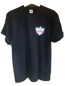 "Smirnoff Vodka - Crest - Black - Fruit of the Loom T-Shirt (M 40"")"