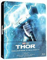 THOR - COLLEZIONE COMPLETA STEELBOOK 3 FILM (3 BLU-RAY) MARVEL STUDIOS