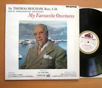 ASD 420 ED1 Beecham My Favourite Overtures 1961 HMV 1st White Gold EXCELLENT