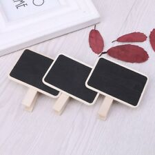 Mini Blackboard Wooden Message Chalkboard With Clips Pegs For Wedding Party