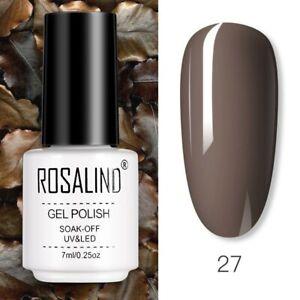 Color Nail Gel Soak Off Matte Top Base Coat UV LED Nail Varnish Polish Manicure