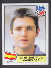 Panini - USA 94 World Cup - # 197 Jose Canizares - Espana (Green Back)