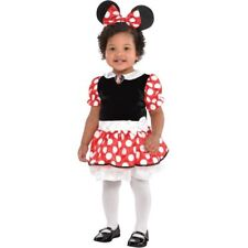 Disney Baby Red Minnie Mouse Infant Costume Fancy Dress Halloween 0-6 Month