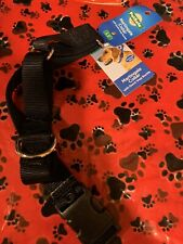 "PetSafe Martingale Dog Collar with Quick Snap Buckle Black LARGE 1"" New"
