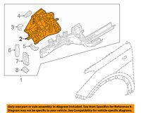 Genuine Hyundai 64510-3Y001 Fender Apron Panel Assembly