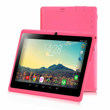"""New iRULU 7"""" Tablet PC 16GB Android 6.0 Quad Core Dual Cam WIFI Google GMS Pink"""
