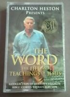 CHARLTON HESTON presents THE WORD / Life & Teachings of Jesus - Sealed Cassette