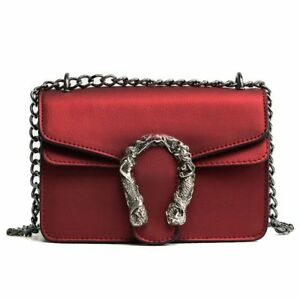 Crossbody Chain Bag Women Fashion Shoulder Handbag Small Casual Bag