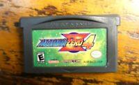 Mega Man Zero 4 (Nintendo Game Boy Advance GBA) Authentic TESTED WORKS!!!