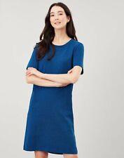 Joules Womens Liberty A Line Jersey Dress - Blue - 20