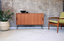 60er Teak Sideboard Kommode Mid-Century 60s Teakwood Cabinet Vintage