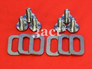 12 pcs Titanium / Ti Bolt & Spacer - Keo Carbon Ti HM Sprint Classic Pedal Cleat