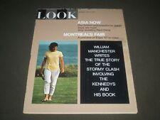 1967 APRIL 4 LOOK MAGAZINE - JACQUELINE KENNEDY COVER - SP 9584