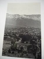"""San Gabriel Mountains with Snow 1920'S Mark James Powers Collection 11"" x 17"""