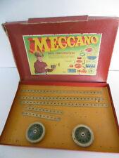 BOITE  COMPLÉMENTAIRE MECCANO  N°3 A  INCOMPLÈTE         1959