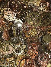 Zahnrad Mix Zahnräder Schmuck Anhänger Steampunk Gothic Basteln Kette Antik BVRE