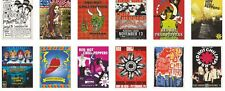 The Red Hot Chili Peppers Concert Posters Trading Card Set