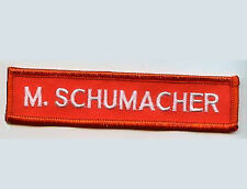 FORMULA ONE RACING 1998 TEAM FERRARI F300 DRIVER νeΙ©®⚙ NAME TAPE: M. SCHUMACHER