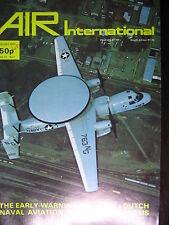 AVIATION  AIR INTERNATIONAL JAN 1977  HAWKEYE AERONAVALE HOLLANDE CURTISS XP40