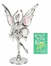 Crystocraft Crystal Butterfly Fairy Gift Ornament Swarovski Elements Figurine