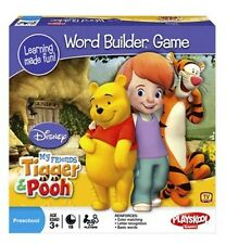 NEW My Friends Tigger and Pooh Toddler Learning WORD BUILDER Game Puzzle NIB