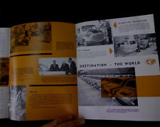 Lightburn Zeta ORIGINAL sales brochure NEW OLD STOCK vintage micro car