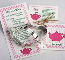 TEAPOT ~ TEACUP ~ tin cookie cutter DUO ~ MADE IN THE USA (NEW)